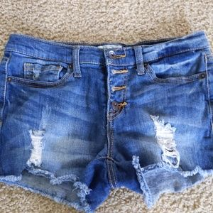 Mudd cutoff Jean shorts